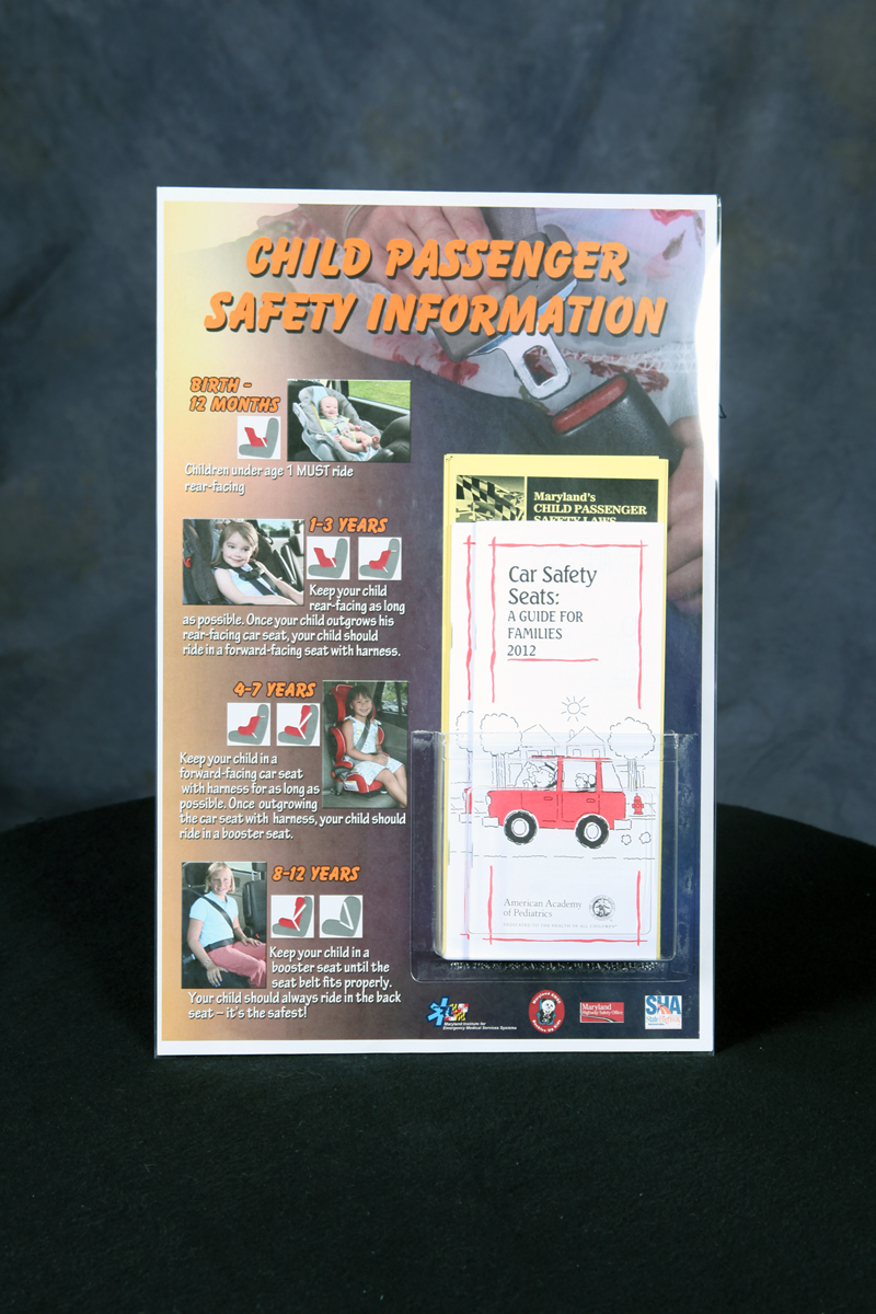 CPS Safety Info Pamphlet Holder