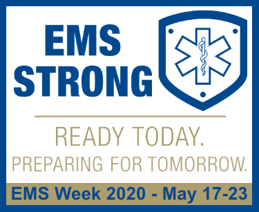 EMS Week 2020 - May 17-13 - EMS Strong